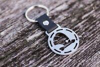 Tow hook keychain Car Front Rear Bumper Billet Ring keyring Schlüsselanhänger