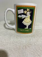 "MARY ENGELBREIT Coffee Mug / Cup ""Lives...Get One"""