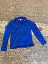 PATAGONIA BASELAYER Fleece 1/4 ZIP PULLOVER Blue M Medium Mens