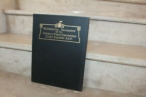 regimental biography of the twenty-first engineers light railway A-E-F