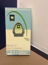 Cricut Cartridge - Walk In My Garden 1- Gently Used - Complete