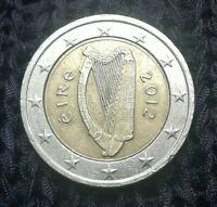 2 Euro Münze Fehlprägung! IRLAND 2012 (éIRe) Doppelrand,Dezentriert