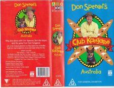 DON SPENCER ABC~ CLUB KANKAROO MINT SEALED~ VIDEO  VHS PAL