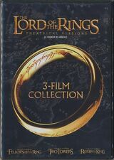 The Lord of the Rings: 3-Film Collection (DVD, 2012, Canadian) BRAND NEW