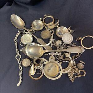Bruchsilber Silberschrott 465 Gramm echt Silber 800 835 925 Sterlingssilber