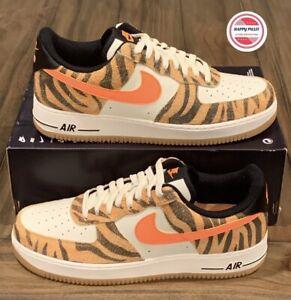 Nike Air Force 1 '07 Low Premium Shoes 'Daktari Stripes' DJ6192-100 Men's Sz 11