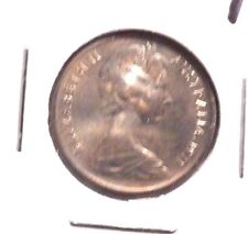 CIRCULATED 1971 5 CENT AUSTRALIAN COIN!