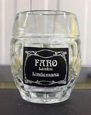 Lindemans Faro Lambie Half Pint Glass Tankard New