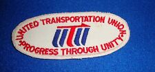 United Transportation Union Patch