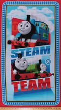 "23.5"" X 44"" Panel Thomas & Friends Steam Team Trains Cotton Fabric Panel D672.66"