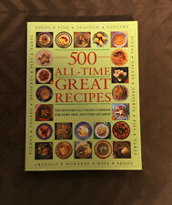 500 All-Time Great Recipes Cookbook 2003 LARGE SOFTCOVER
