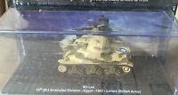 "DIE CAST TANK "" M3 LEE ARMOURED DIVISION EGYPT 1942 LEVARE (BRITSH ARMY) "" 1/72"