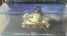 "DIE CAST TANK "" M3 LEE ARMOURED DIVISION EGYPT 1942 REMOVE (BRITSH ARMY) "" 1/72"