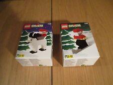 LEGO - Sistema - Babbo Natale & renna no. 1128 & 1129 conf. orig.