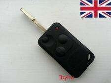 For LAND/RANGE ROVER P38 Replacement 2button Flip Key FOB Case with blank blade