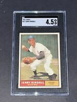 1961 Topps #27 Jerry Kindall SGC 4.5 Newly Graded & Labelled