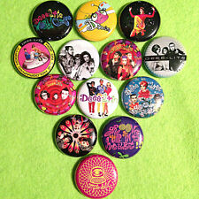 "13 DEEE-LITE 1"" Buttons Groove Is In The Heart! Lady Miss Kier - FREE SHIPPING!"