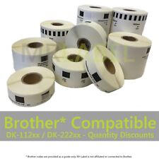Brother Compatible Thermal Labels DK-11201 11202 11203 11204 11208 11218 11241