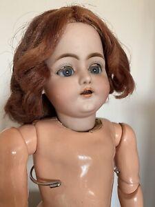 Antique German Bisque Doll S&C Schmidt