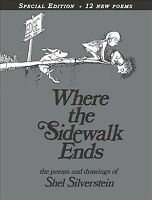 Where the Sidewalk Ends : Poems and Drawings, Hardcover by Silverstein, Shel,...