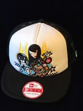 Tokidoki TKDK New Era 9Fifty Star Girl Racing Hat Cap A-frame Snapback Small M