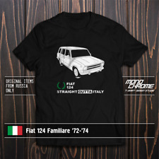 T-shirt Fiat 124 Familiare '72-'74