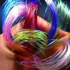 Pearl Uv Hue Ice Wing Fiber Crystal Flashabou Tinsel Fly Tying Materials