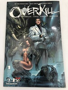 Overkill Darkness Witchblade Aliens #1 2000 Top Cow Comic Book Graphic Novel TPB