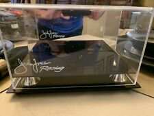 John Force Racing Display Case 1/24 Funny Car With Mirrored Back  Vhtf