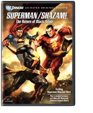 Superman Shazam The Return of Black Adam Region 4 New DVD