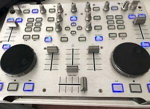 HERCULES RMX DJ CONSOLE (WORKS WITH VIRTUAL DJ/TRAKTOR ON PC)