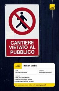 Teach Yourself Italian Verbs New Edition (TYV) by Bonacina, Maria Paperback The