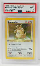 Pokemon 1st Edition Jungle Kangaskhan 5/64 Foil Holo PSA 9 MINT #28205139