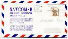 1976 Satcom-B 2nd Domestic Communication Satellite Cape Canaveral NASA USA SAT