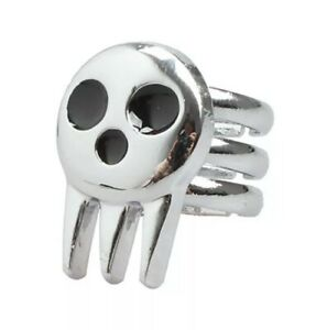 1pc Anime Soul Eater Death the Kid Ring Best Cosplay Item Free shipping