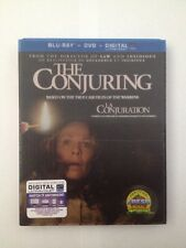The Conjuring (Blu-ray Disc + DVD Combo) With RARE Lenticular Slipcover