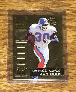 1995 Fleer Ultra Gold Medallion Terrell Davis RC BRONCOS HOF! BGS 9.5/10?