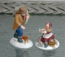 """Vintage Mint 1999 Dickens Village """"A Treasure From The Sea"""" 58461 Retired"""