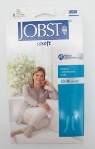 Jobst Small 20-30 mmHg Sand SoSoft Compression Socks Stockings 120225 Knee High