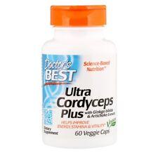 Doctor's Best Ultra Cordyceps Plus, 60 Vegan Caps - Improves Energy & Stamina*