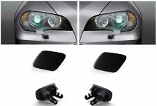 NEW BMW X5 E70 PAIR  FRONT HEADLIGHT WASHER JET CAPS GROUNDED 06-10