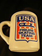 mug cup USA Figure Skating Team logo Campbell Soup Olympics coffee sports