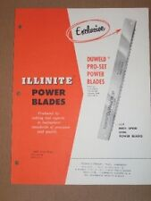 Illinois Tool Works Catalog~Illinite Power Blades/Saw