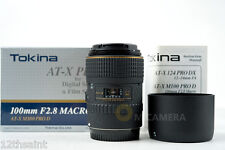 Tokina AT-X PRO D 100mm f/2.8 Macro Lens For Canon (NEW)