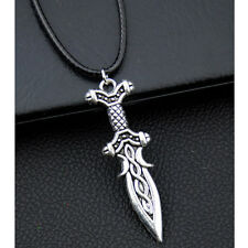 Cool man boy alloy swords Pendant necklace XL287