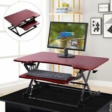 Ergonomic Height Adjustable Standing Desk Sit Stand Desk Desk Top Desk Riser BN