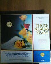 VARIOUS LONGINES Those memory years/6 LP Near Mint- LS 121 Vinyl  Record