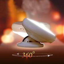 Rechargeable Magnetic 360Degree UFO Rotating Body-Sensor Motion LED Night Light