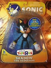"Jazwares SHADOW the Hedgehog Sonic 6"" inch new MOC tru Toys r us exclusive SEGA"