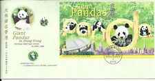 HONG KONG FDC: Giant Pandas 1999